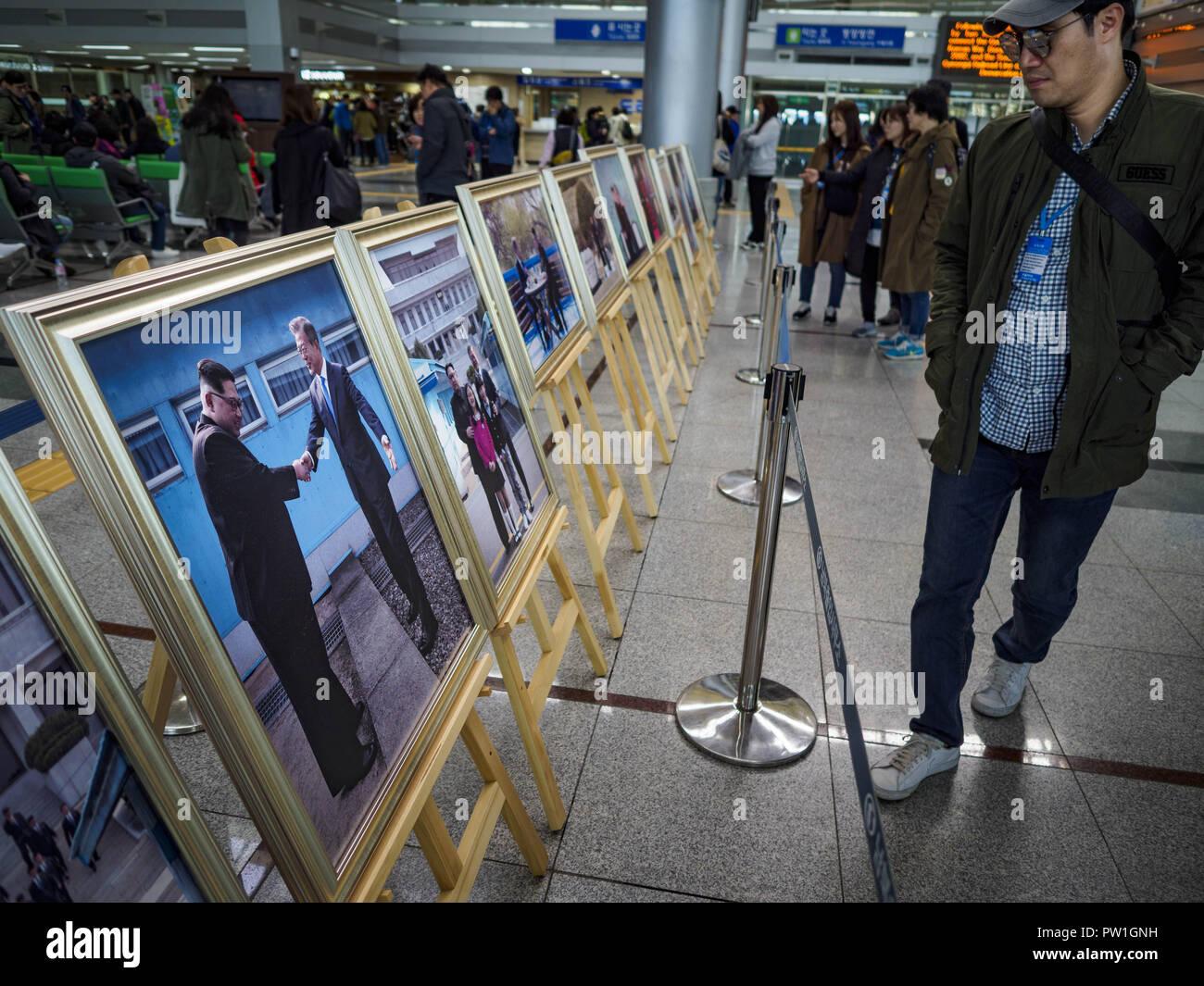 Paju, Gyeonggi, South Korea  12th Oct, 2018  A South Korean