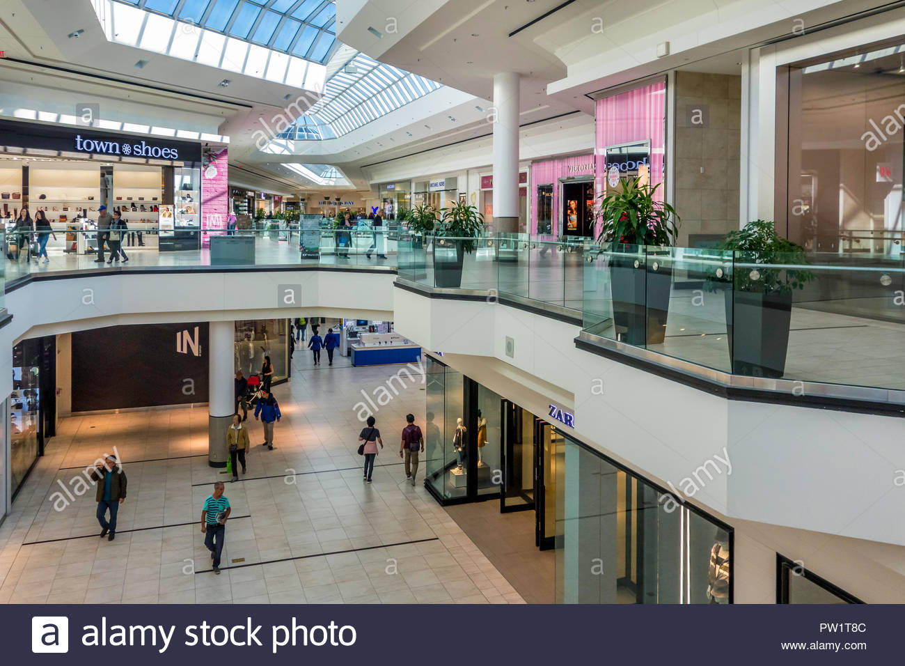 Fairview Mall High Resolution Stock