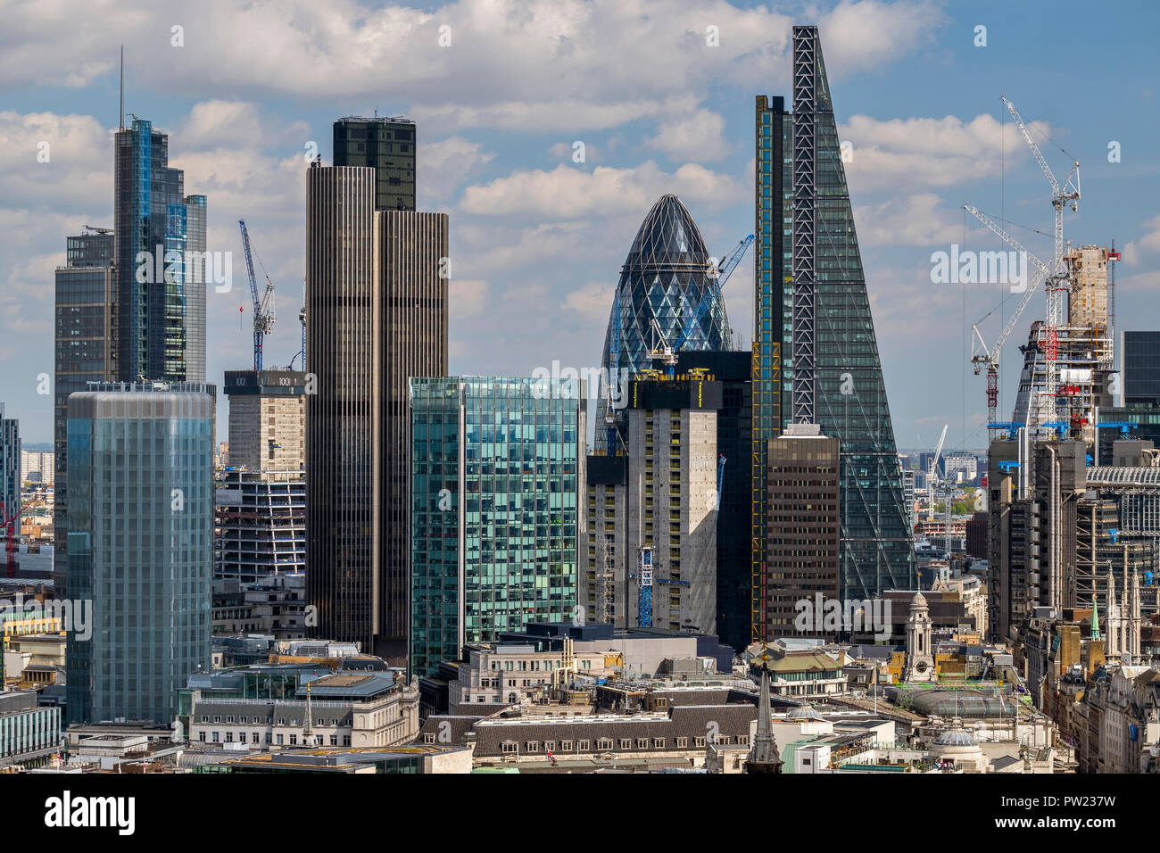 Financial District - Stock Image