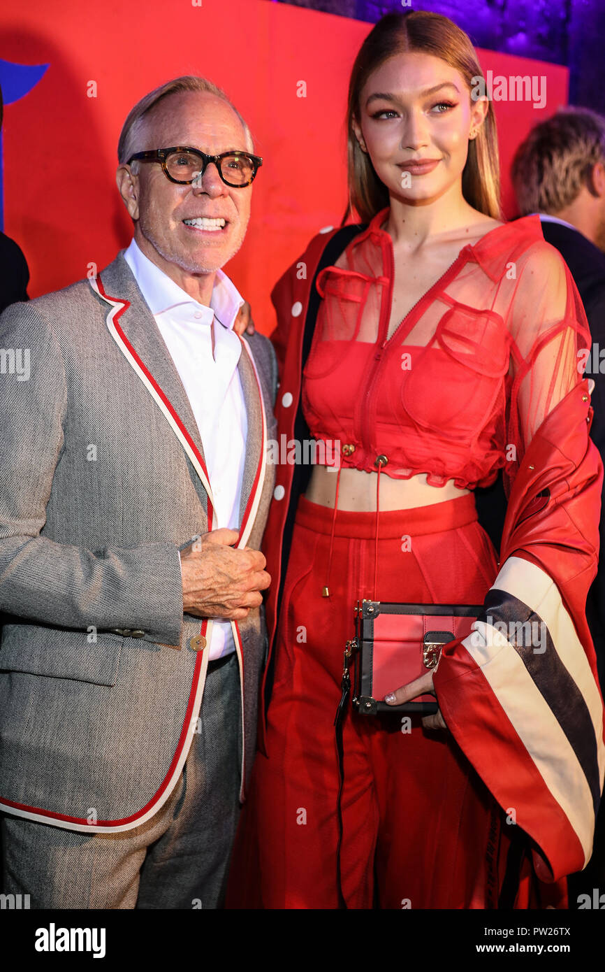 9ab576ba35d Tommy Hilfiger   Lewis Hamilton celebrate the launch of their recent  collaborative collection