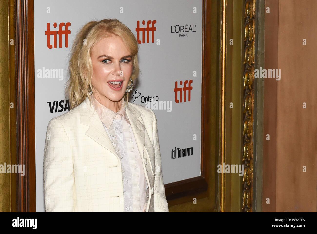 43rd Toronto International Film Festival - Destroyer - Premiere  Featuring: Nicole Kidman Where: Toronto, Canada When: 10 Sep 2018 Credit: Jaime Espinoza/WENN.com Stock Photo