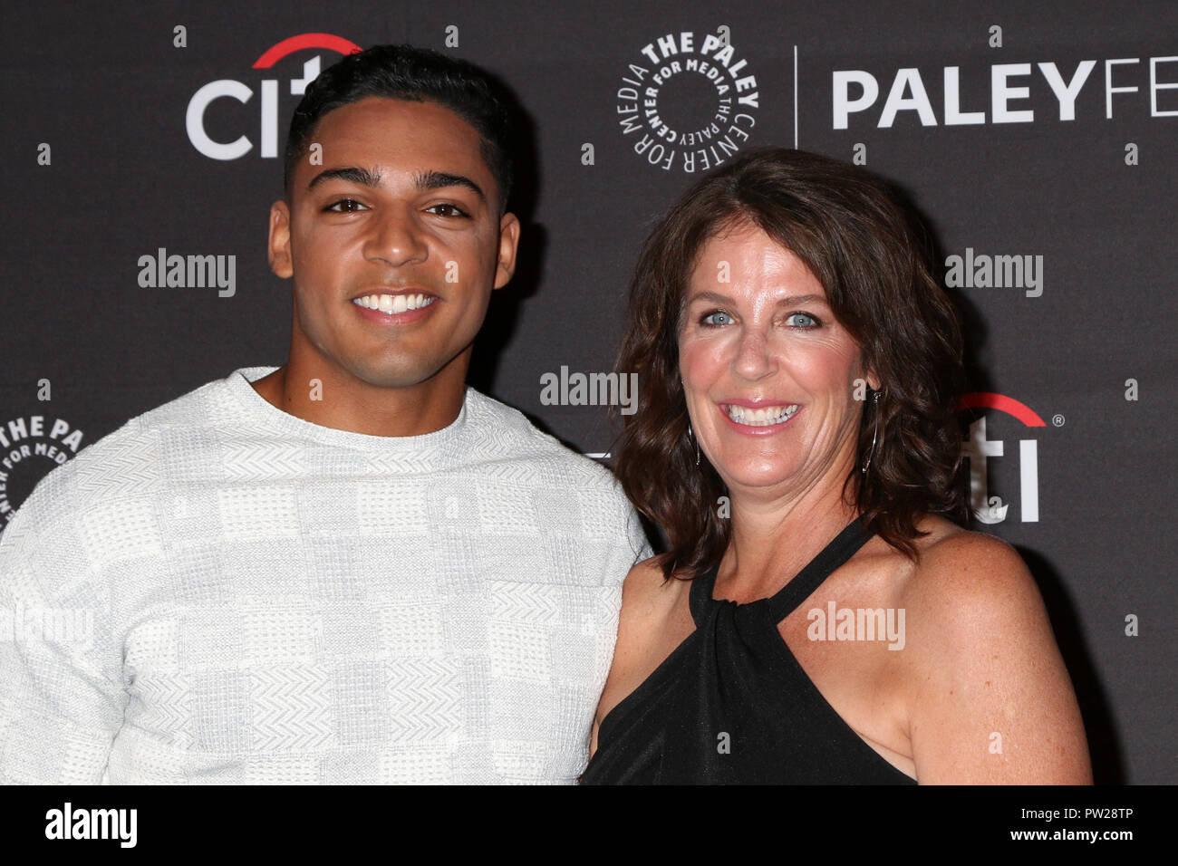 12th Paleyfest Fall Tv Previews The Cw Screenings Featuring Michael Evans Behling Carol Behling Where Beverly Hills California United States When 08 Sep 2018 Credit Nicky Nelson Wenn Com Stock Photo Alamy