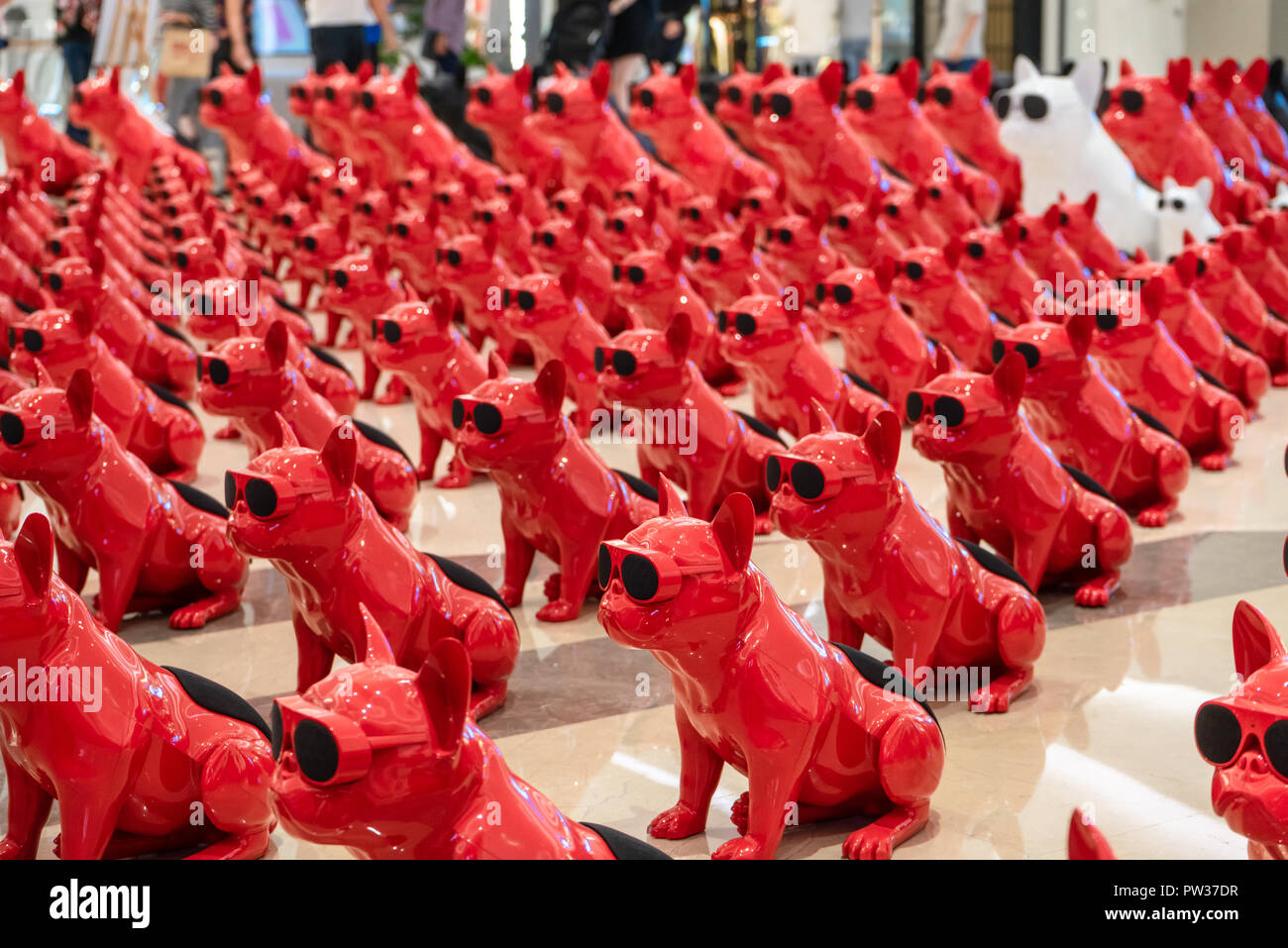 Companion Robots On Sale In China Stock Photos & Companion