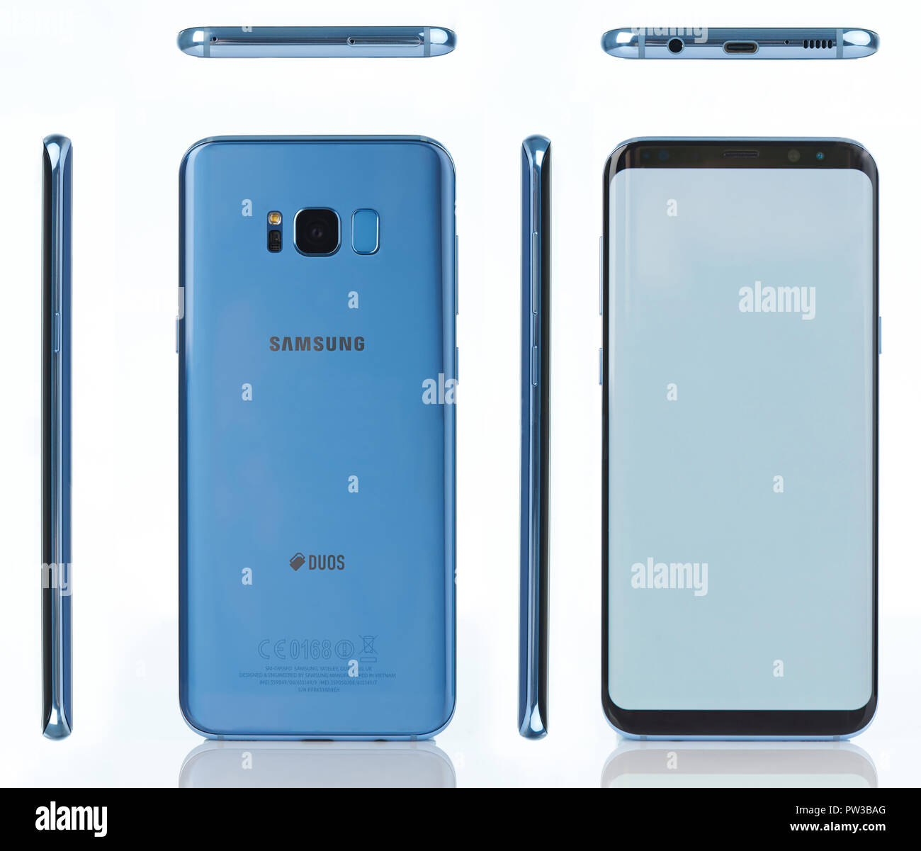 Galaxy S8 Plus Background High Resolution Stock Photography And Images Alamy