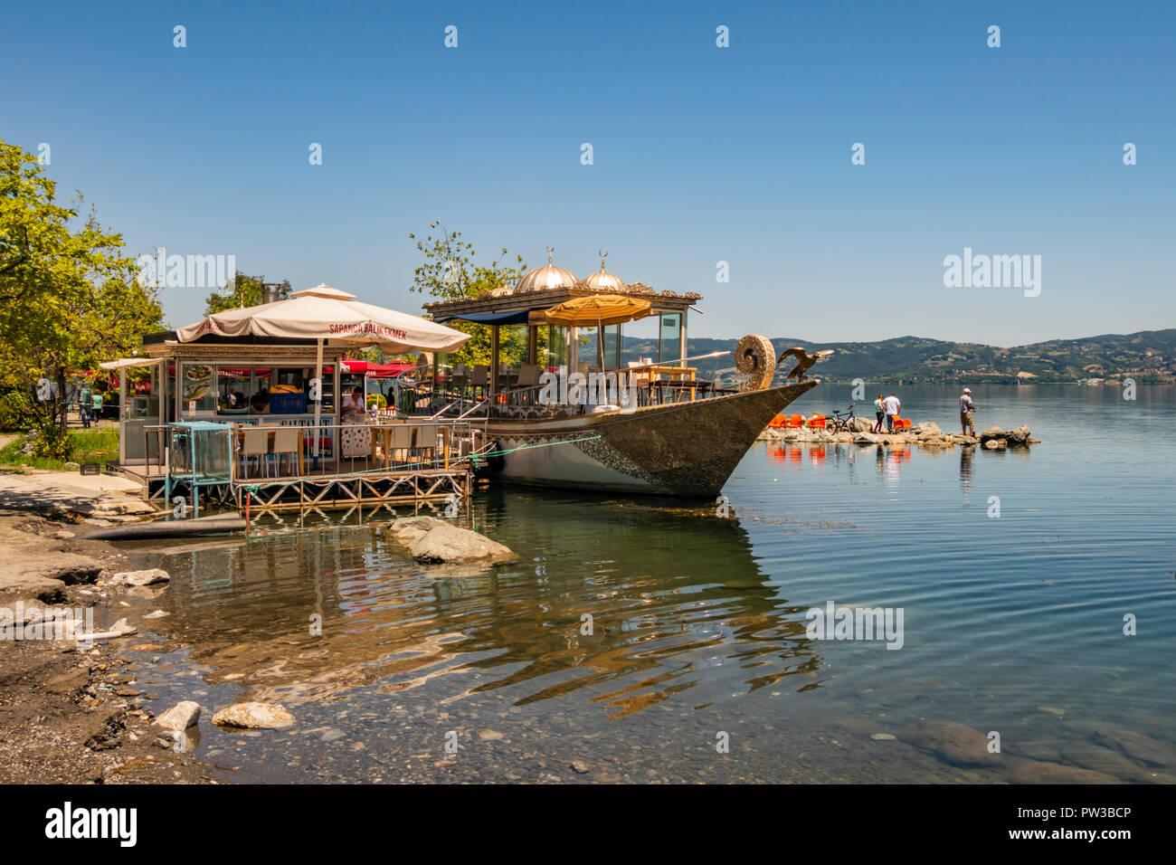 Sapanca Adapazari Turkey July 9 2017 Landscape From Sapanca