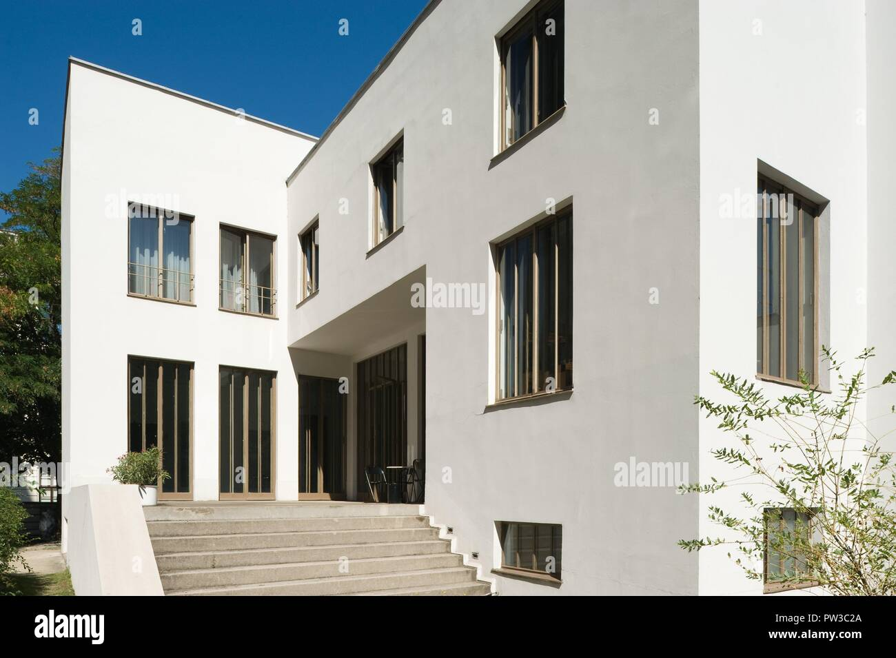 Wien, Haus Stonborough-Wittgenstein, Ludwig Wittgenstein 1926-1928 - Stock Image