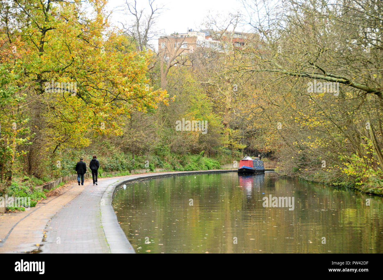 Regents Canal, London - Stock Image