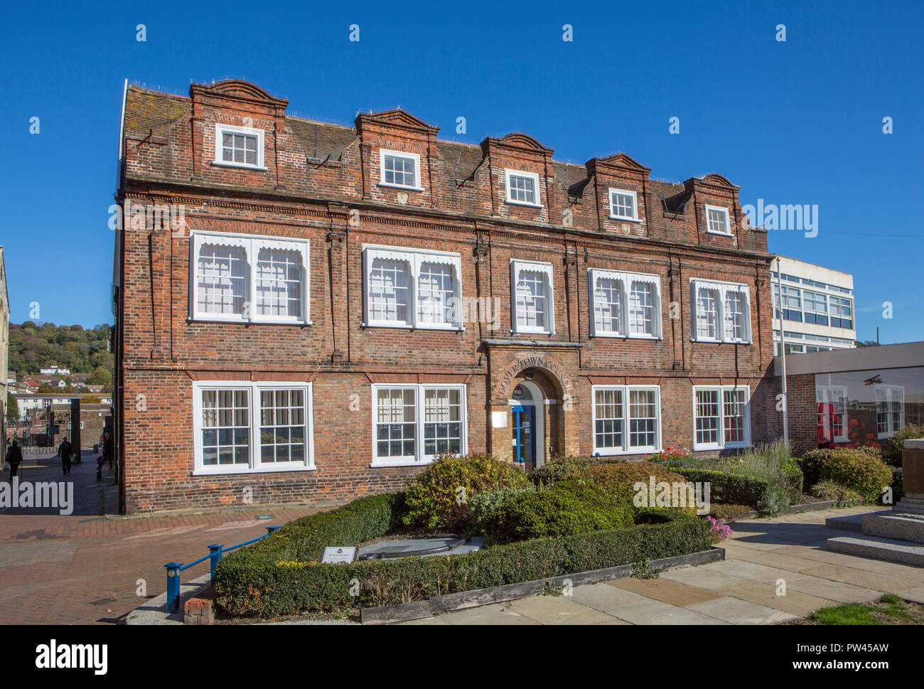 Dover Town Council offices, Maison Dieu House - Stock Image