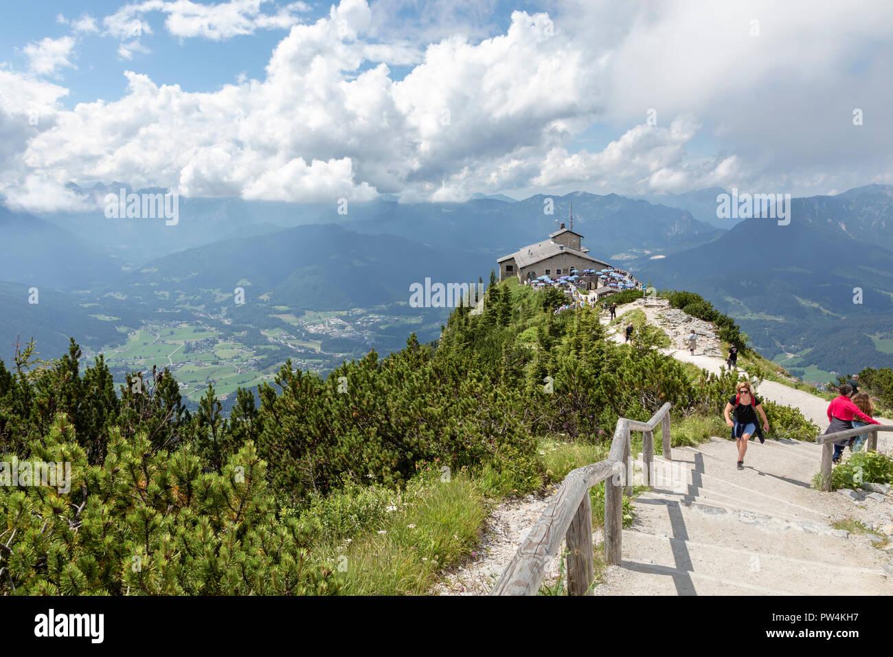 The Eagle's Nest, Berchtesgaden, Bavaria, Germany - Stock Image