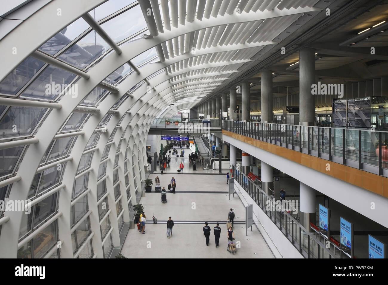 Hong Kong International Airport. China - Stock Image