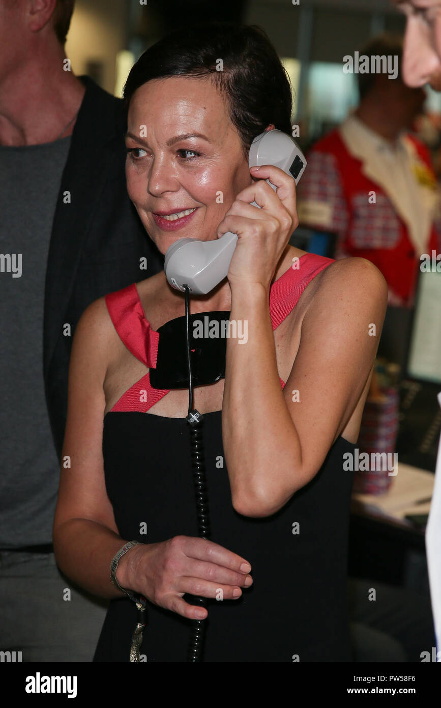 Damian Lewis and Helen McCrory taking part in the BGC Annual Global Charity Day 2018 - London  Featuring: Helen McCrory Where: London, United Kingdom When: 11 Sep 2018 Credit: WENN.com - Stock Image