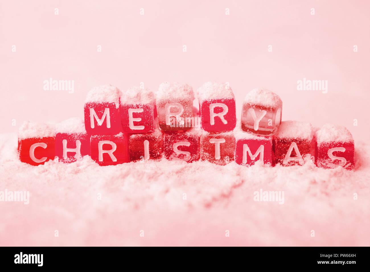 Merry Christmas And Happy New Yea Stock Photos & Merry