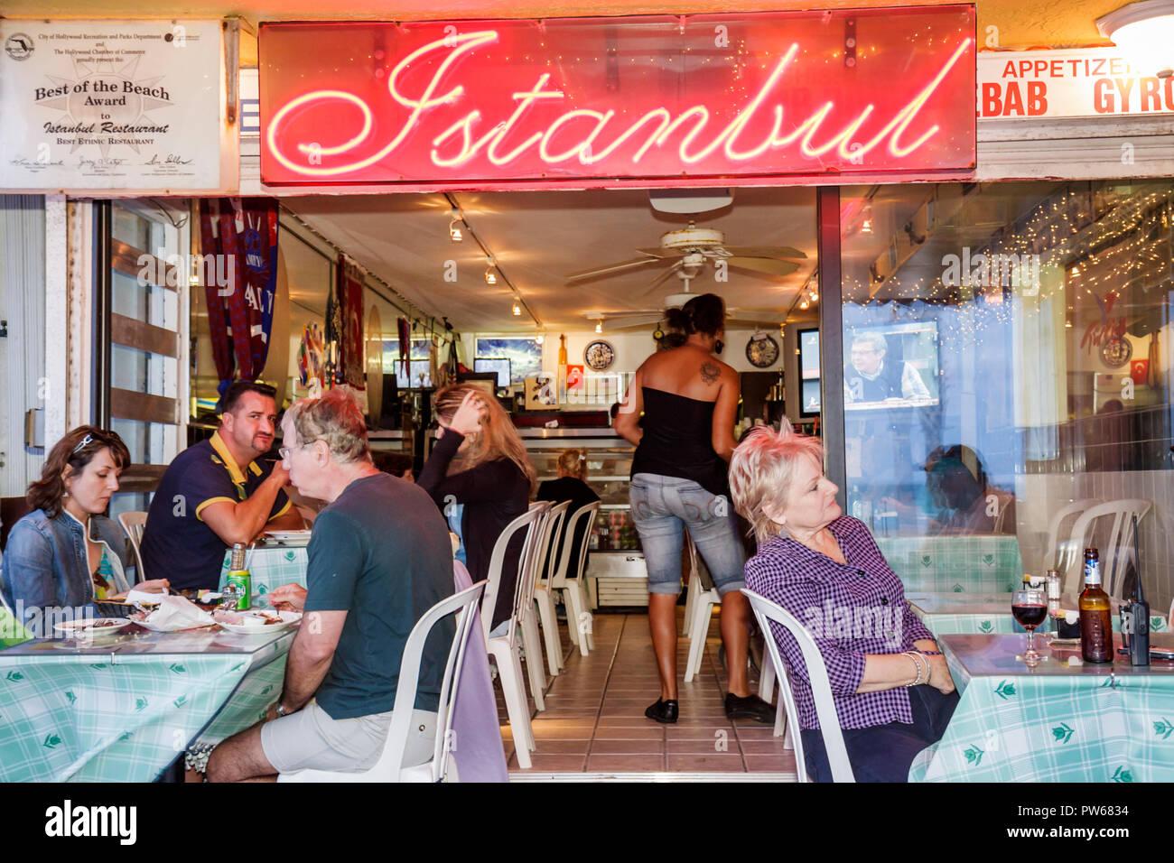 Hollywood Florida Hollywood Beach Boardwalk Istanbul