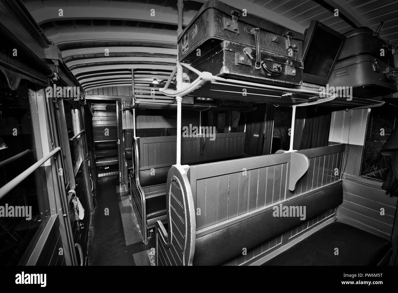 History Old Train Railway Museum Mulhouse France - Stock Image