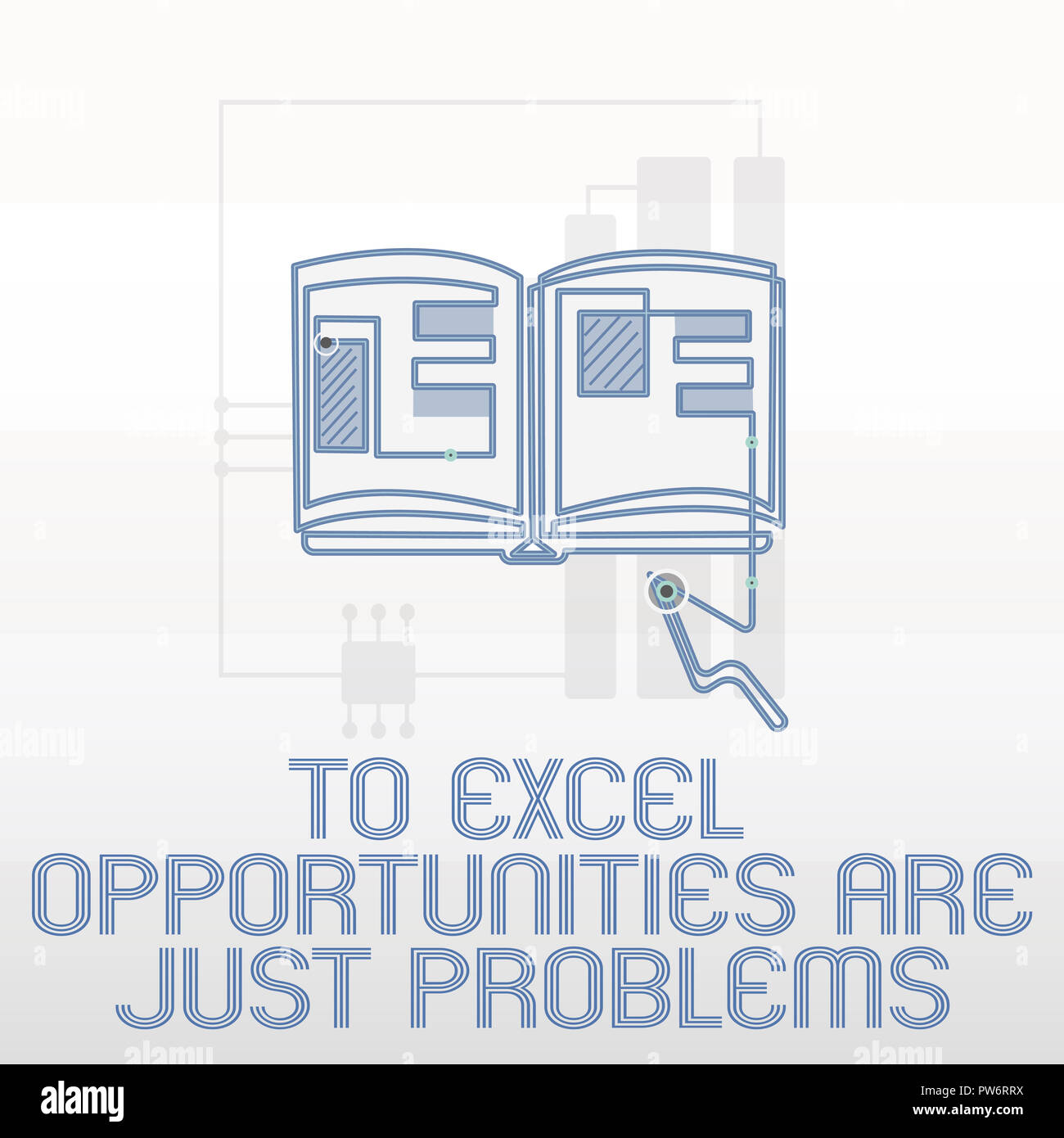 Handwriting text writing To Excel Opportunities Are Just