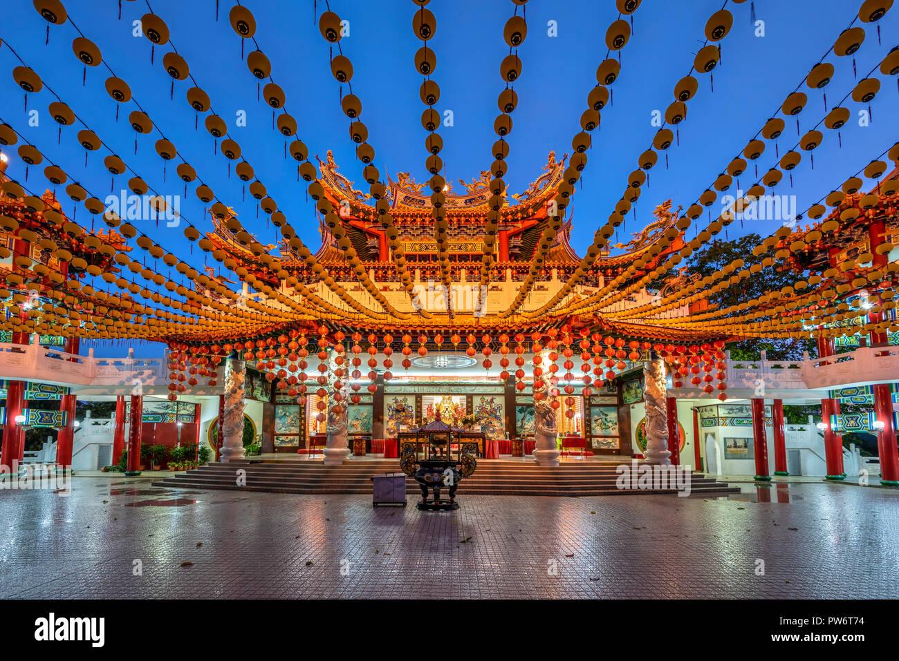 Thean Hou Temple, Kuala Lumpur, Malaysia - Stock Image