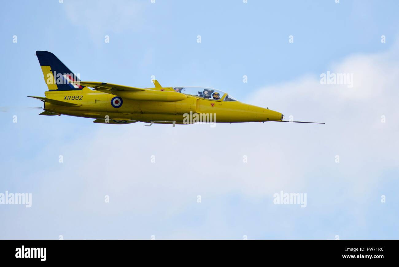 Folland Gnat T.1 (XR992) - Stock Image