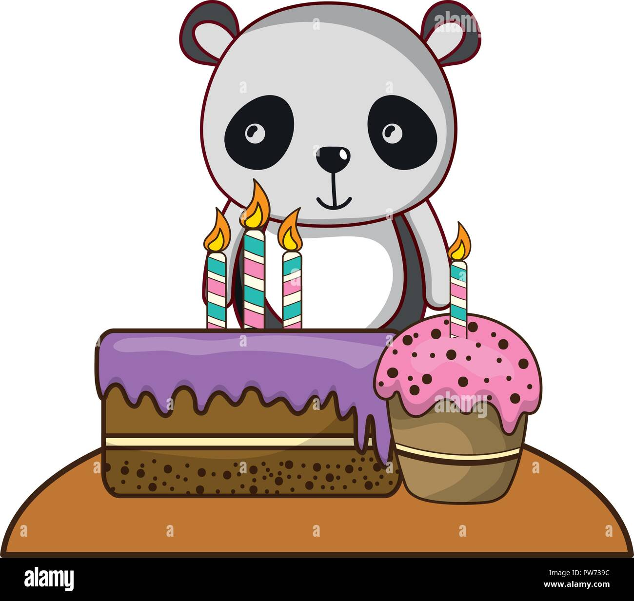 Birthday Cakes Cartoons High Resolution Stock Photography And Images Alamy