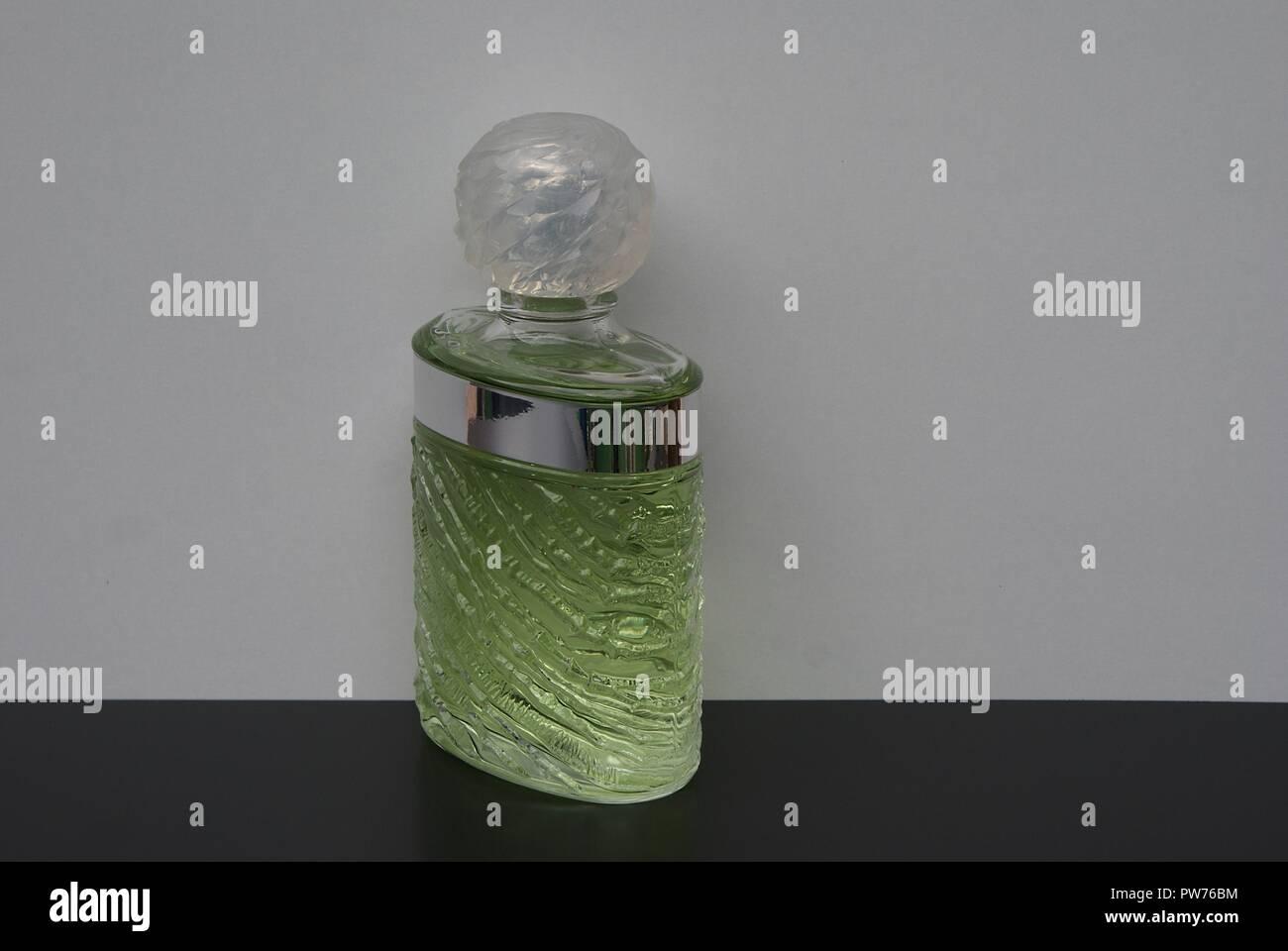 Eau de Rochas, fragrance for ladies, large perfume bottle - Stock Image