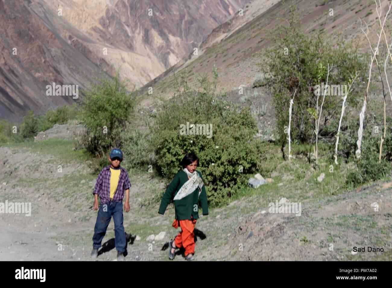 chapursan kids - Stock Image