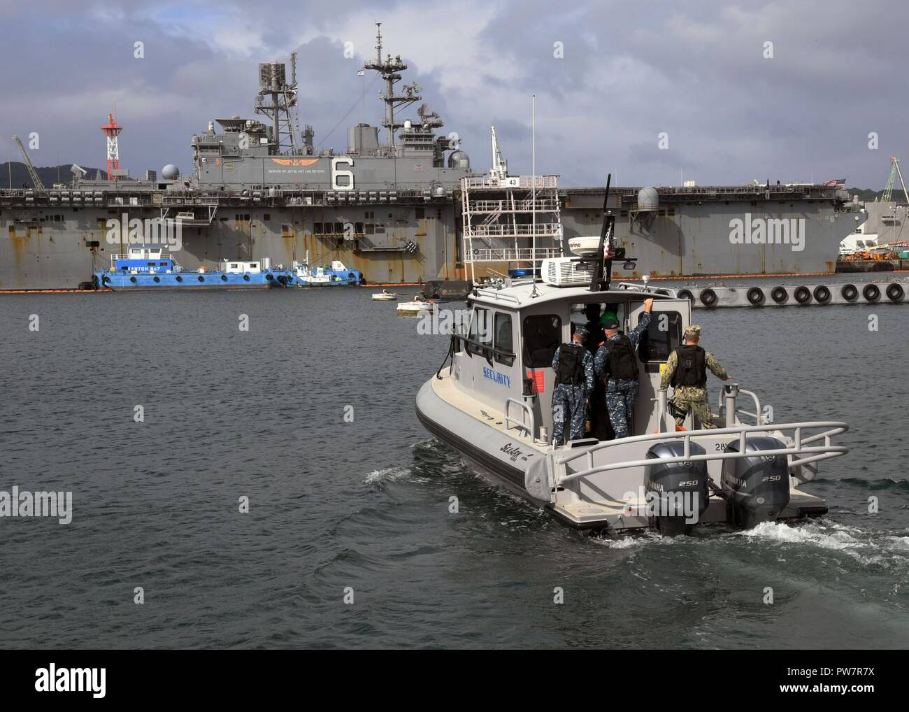 SASEBO, Japan (Sept  28, 2017) A Fleet Activities Sasebo (CFAS