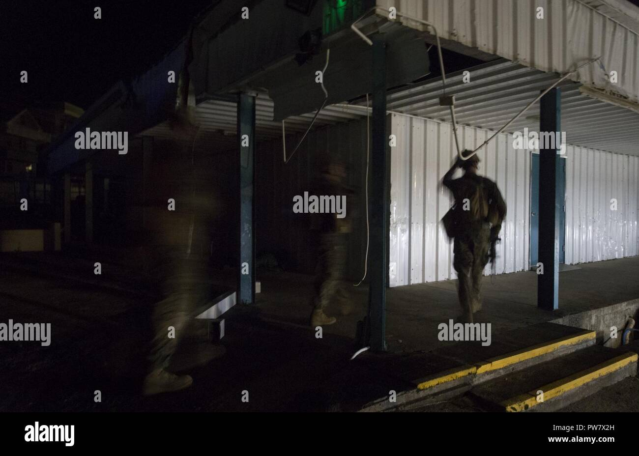 Us Marines With Joint Task Force Leeward Islands Conduct A Night