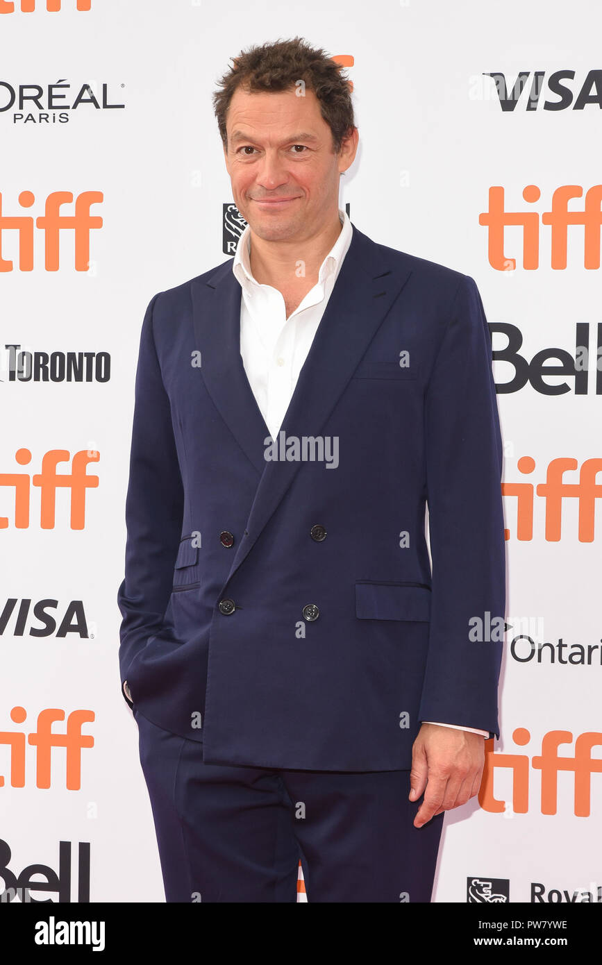 43rd Toronto International Film Festival - Colette - Premiere  Featuring: Dominic West Where: Toronto, Canada When: 11 Sep 2018 Credit: Jaime Espinoza/WENN.com Stock Photo