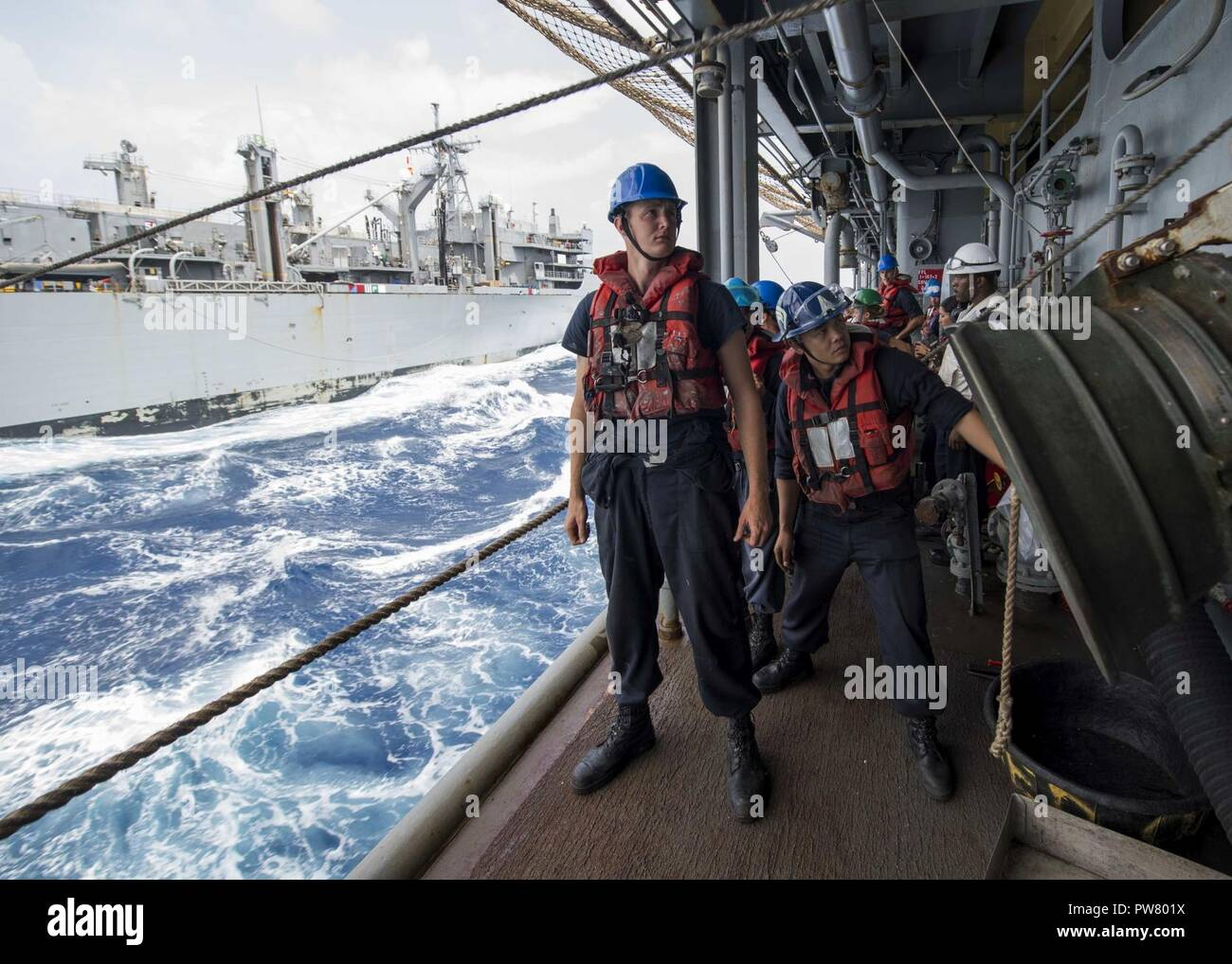 Replenishment Caribbean: To Take On Fuel Stock Photos & To Take On Fuel Stock