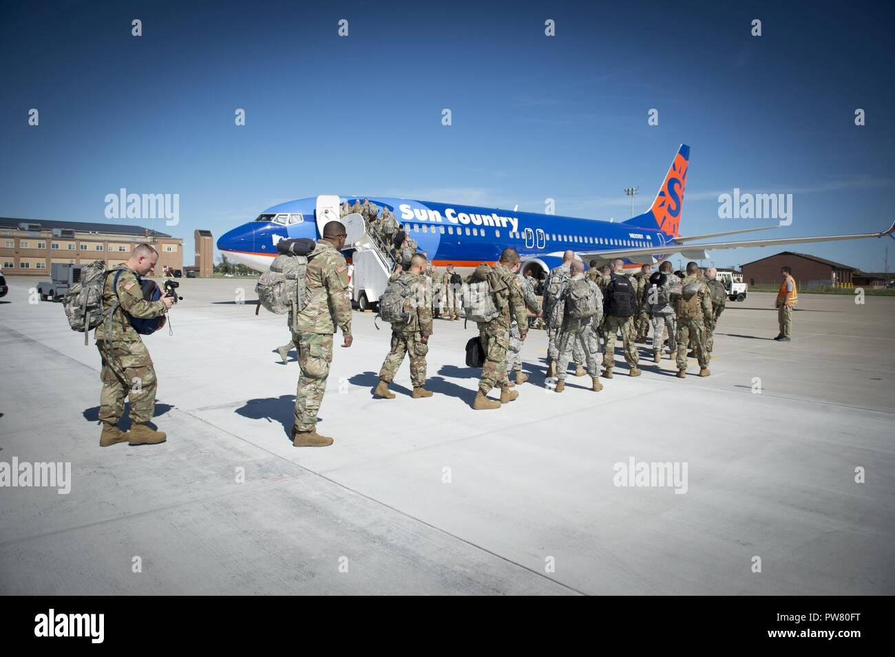 New York Army National Guard Soldiers Board A Charter