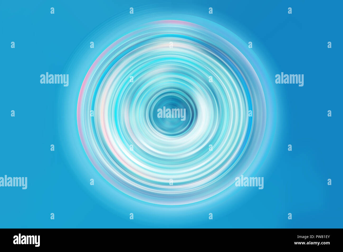 high tech digital spin button futuristic technology blue color