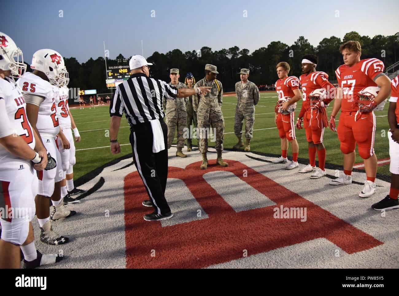 Biloxi High School Football High Resolution Stock Photography And