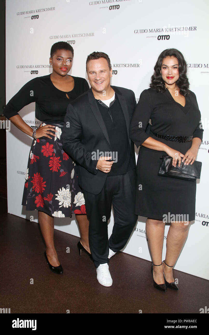 At the Launch Event of his new curvy collection by OTTO the designer is  happily showing c168000895