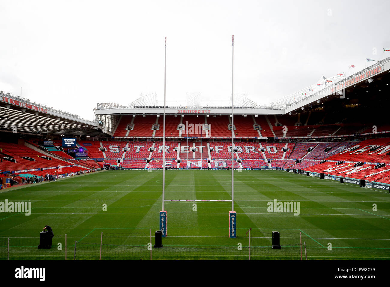 A general view before the Betfred Super League Grand Final at Old Trafford, Manchester. - Stock Image