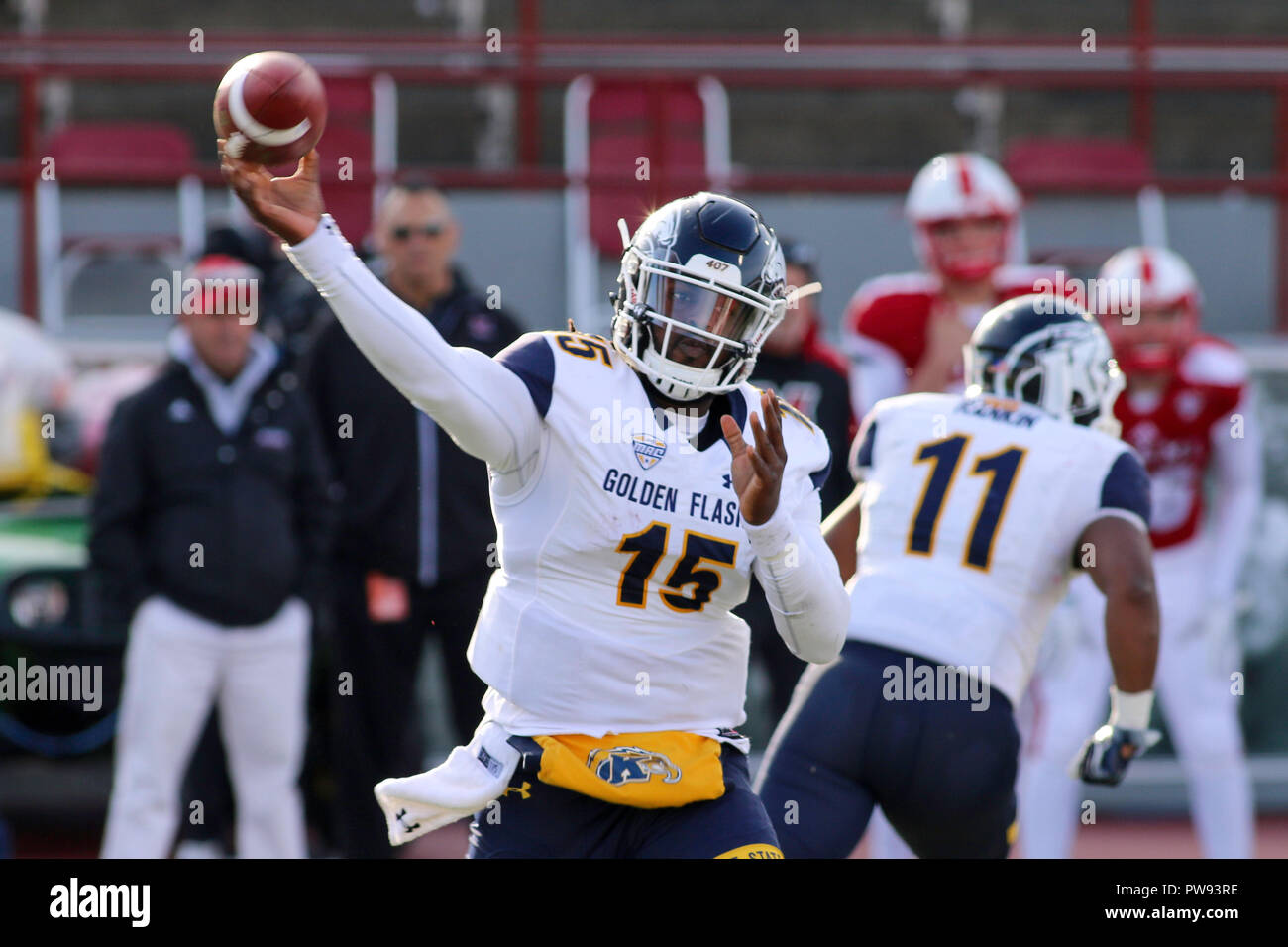 pretty nice 20659 12433 Oxford, Ohio, USA. 13th Oct, 2018. Kent State Golden Flashes ...
