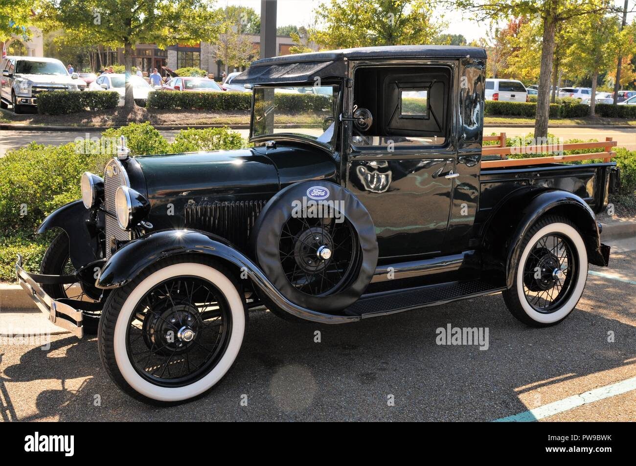 Classic Ford Model A pickup. - Stock Image