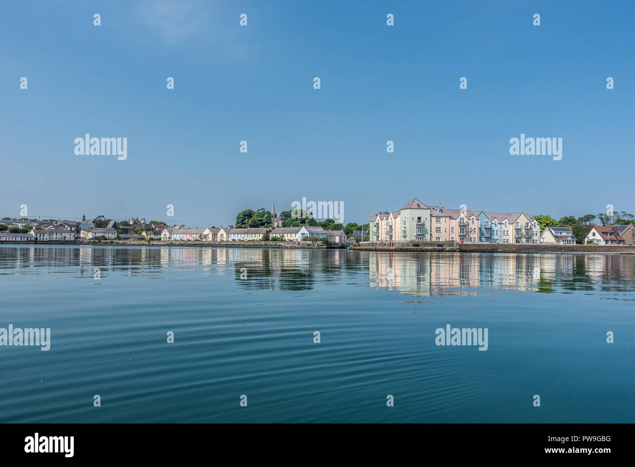 Different angle of Killyleagh - Stock Image