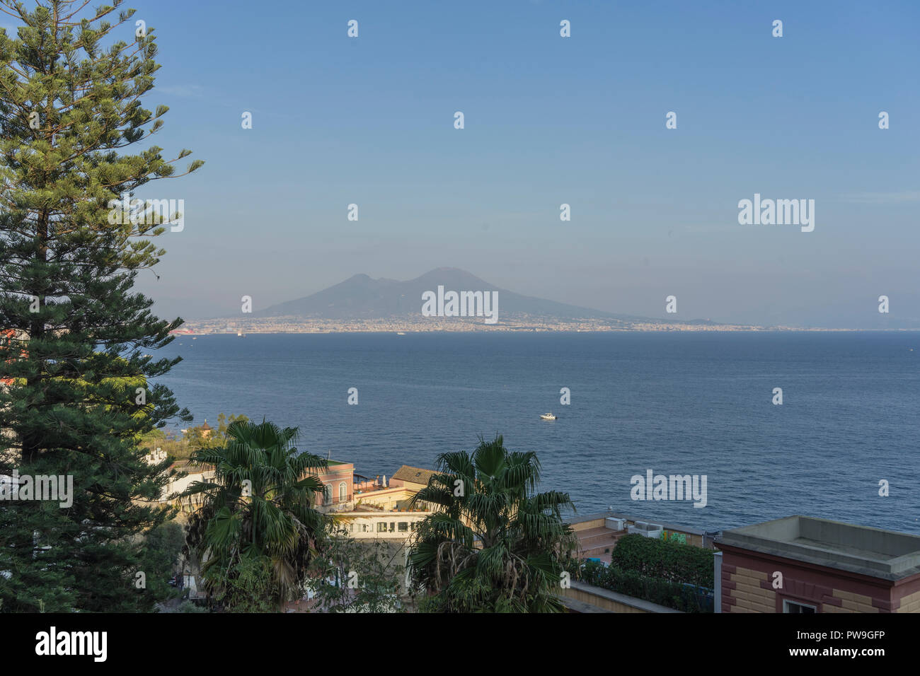 Gulf of Naples - Stock Image