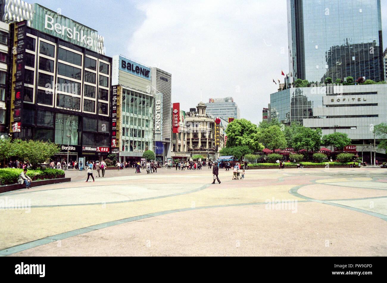 Shangai Street - Stock Image