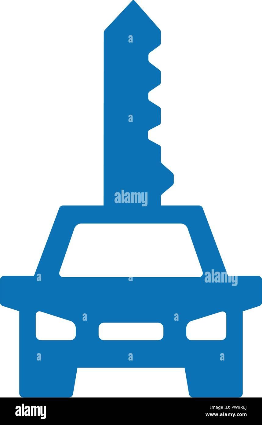 Vector Key Car Logo Combination Vehicle Symbol Or Icon Unique Automobile Digital Logotype Design Template Stock Vector Image Art Alamy