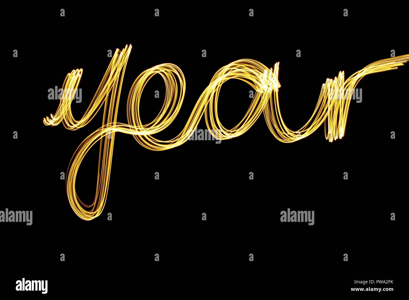 Metallic Gold Letters Stock Photos & Metallic Gold Letters