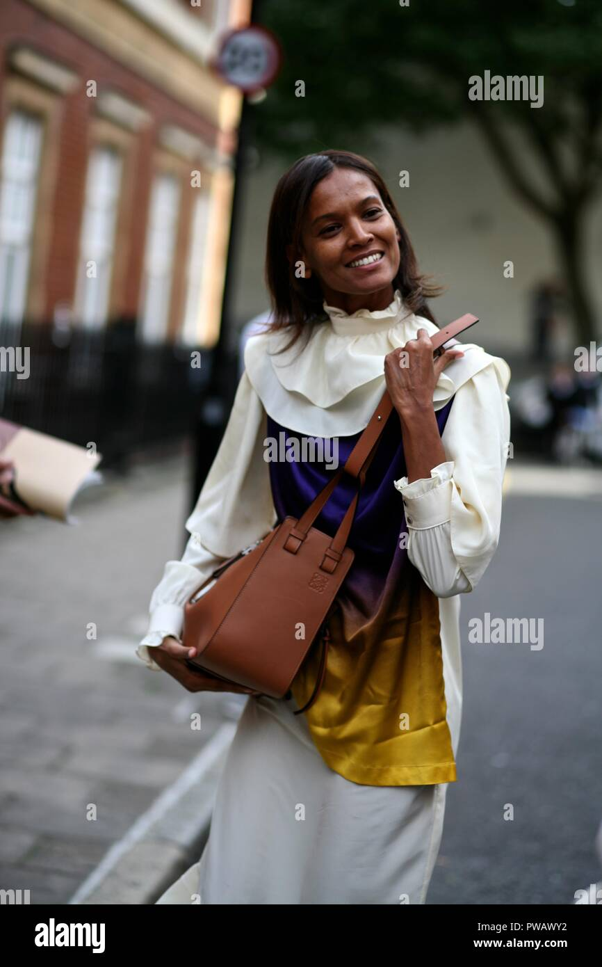 Street style, Spring Summer 2019  London Fashion Week -Sept