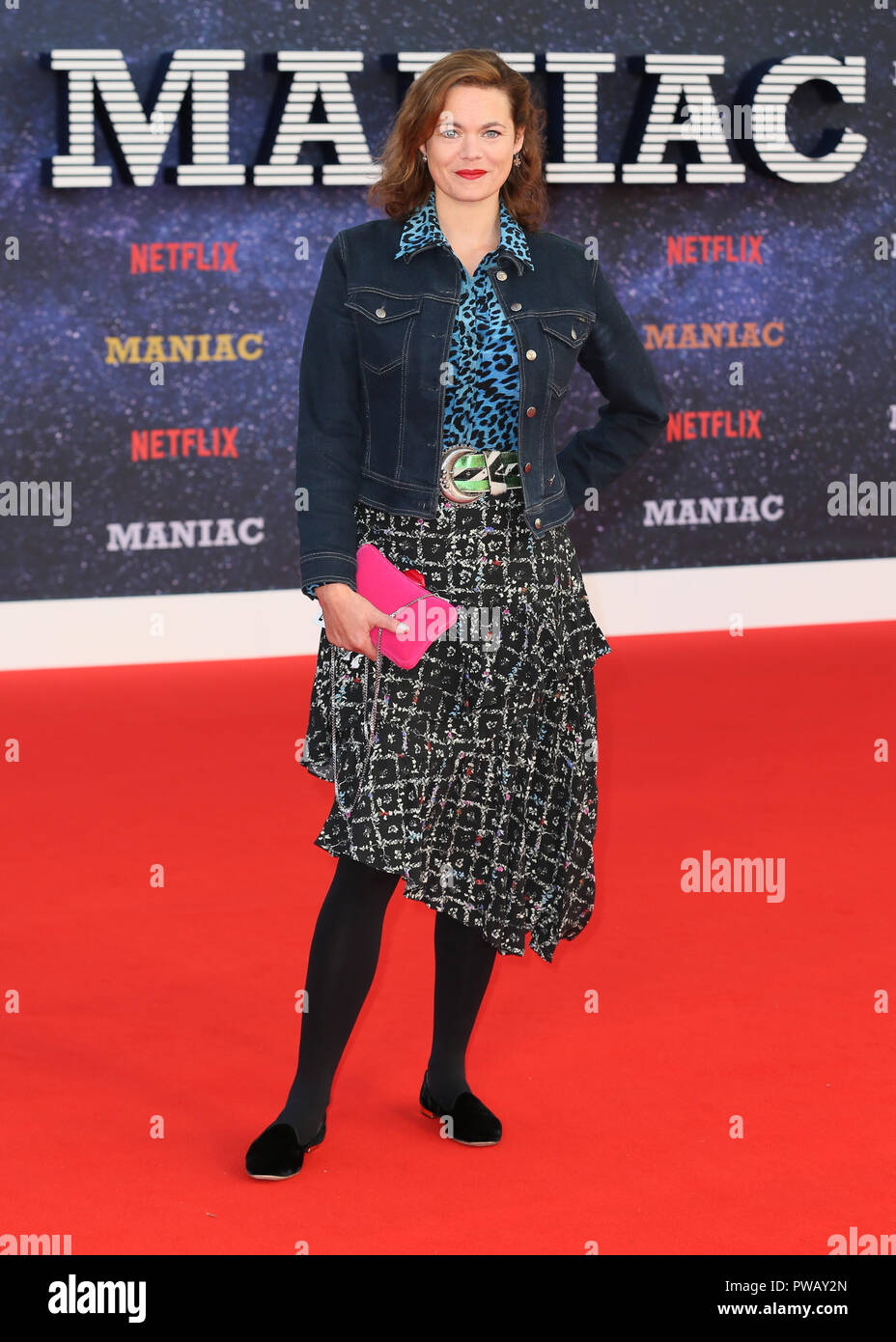 The World Premiere of 'Maniac' held at the BFI Southbank - Arrivals  Featuring: Jasmine Guinness Where: London, United Kingdom When: 13 Sep 2018 Credit: Mario Mitsis/WENN.com - Stock Image