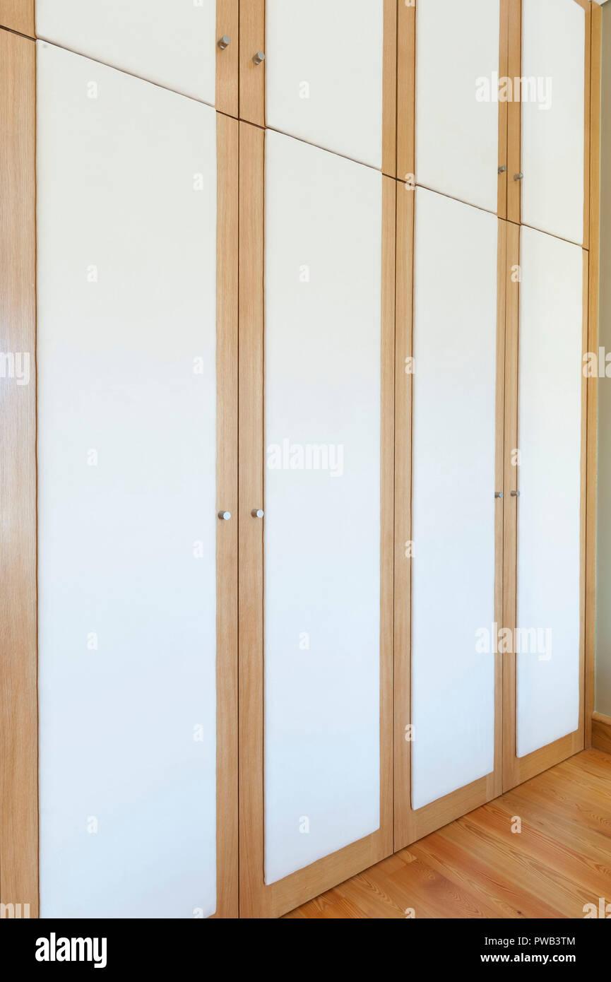 Closet doors - Stock Image