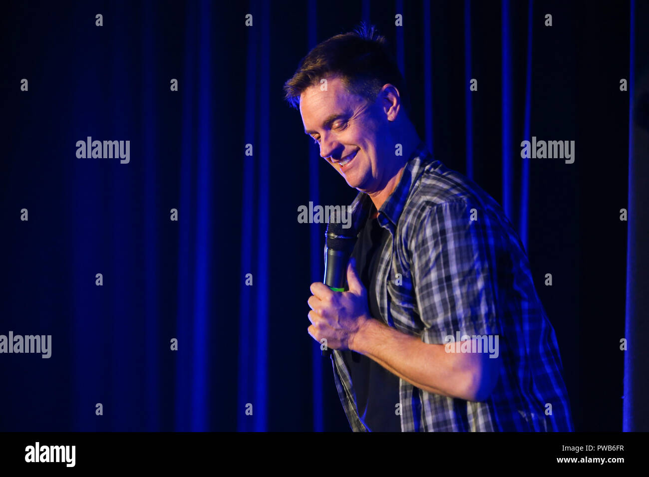 Huntington, New York, USA. 13 October 2018. Comedian Jim Breuer performs at the Paramount on October 13, 2018 in Huntington, New York. Credit: Debby Wong/Alamy Live News - Stock Image