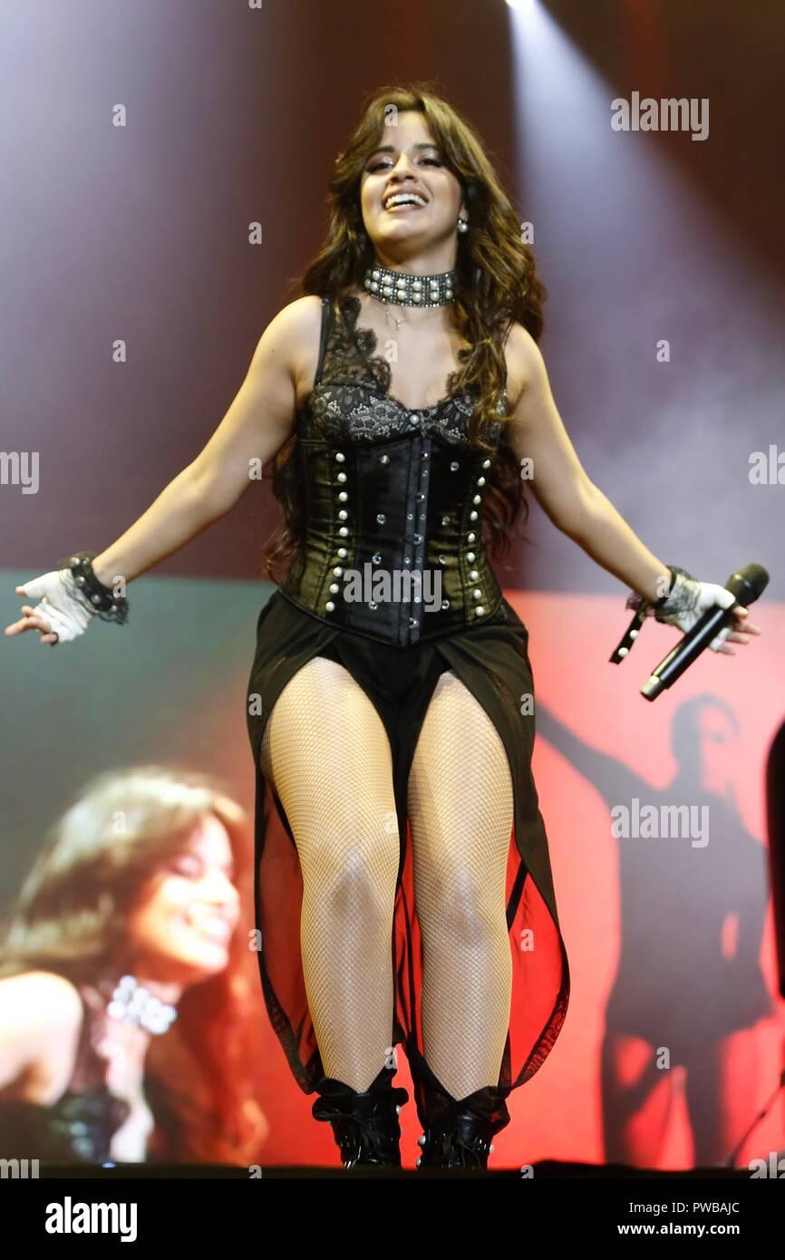 SÃO PAULO, BRAZIL - OCTOBER 14: Camila Cabello performs