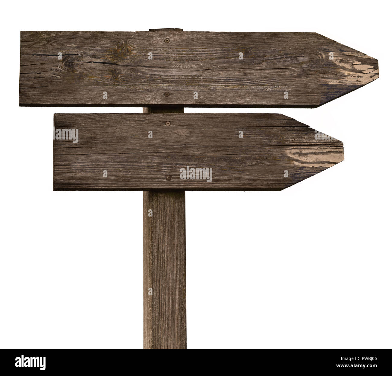 sign direction decision paths directions decide life - Stock Image