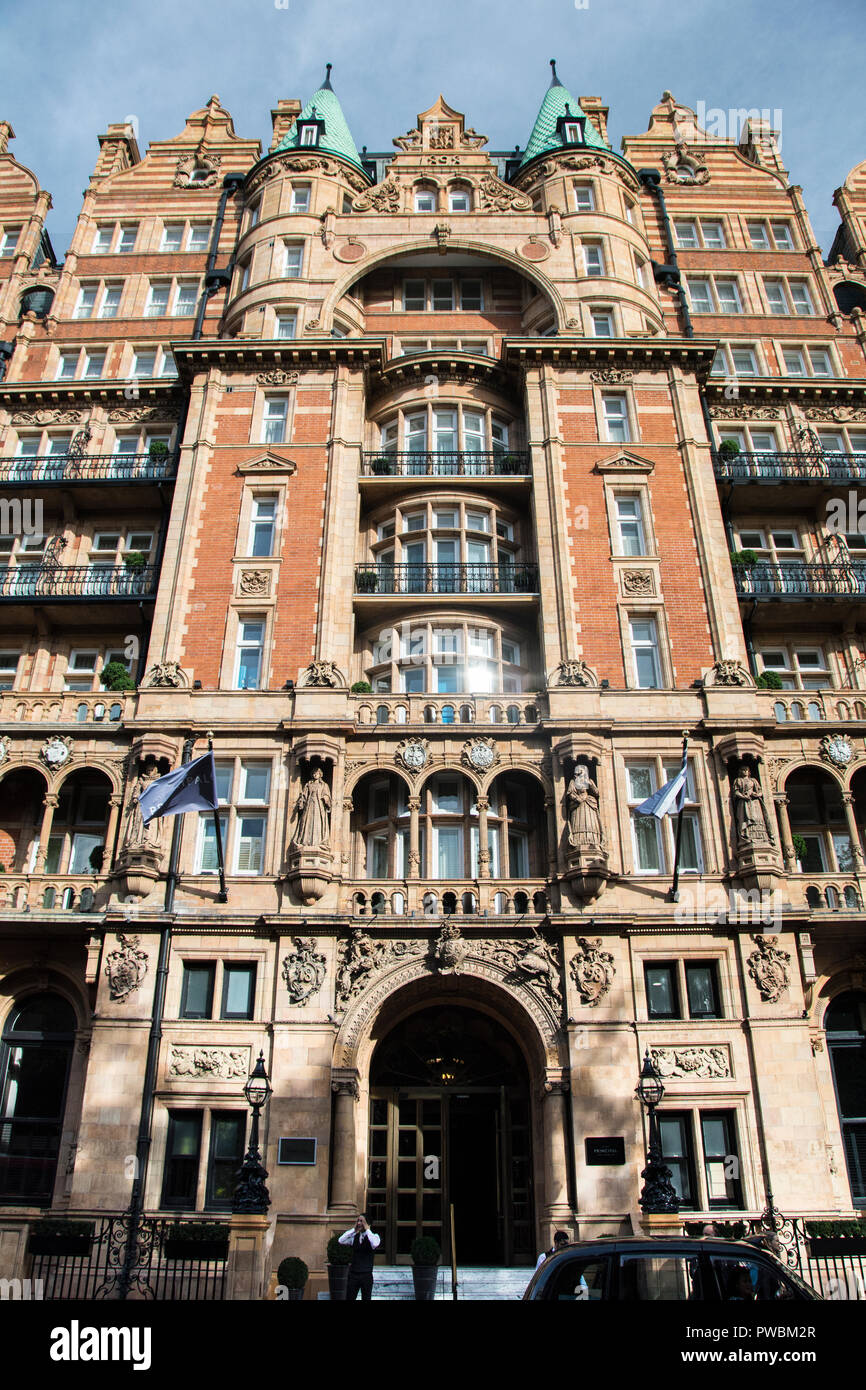 The Principle Hotel, Russell Square, London, UK - Stock Image