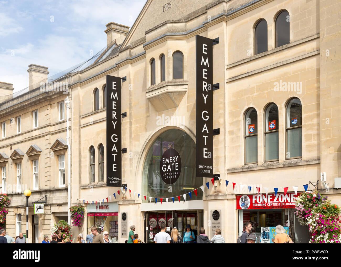 Emery Gate shopping centre, Chippenham, Wiltshire, England, UK - Stock Image