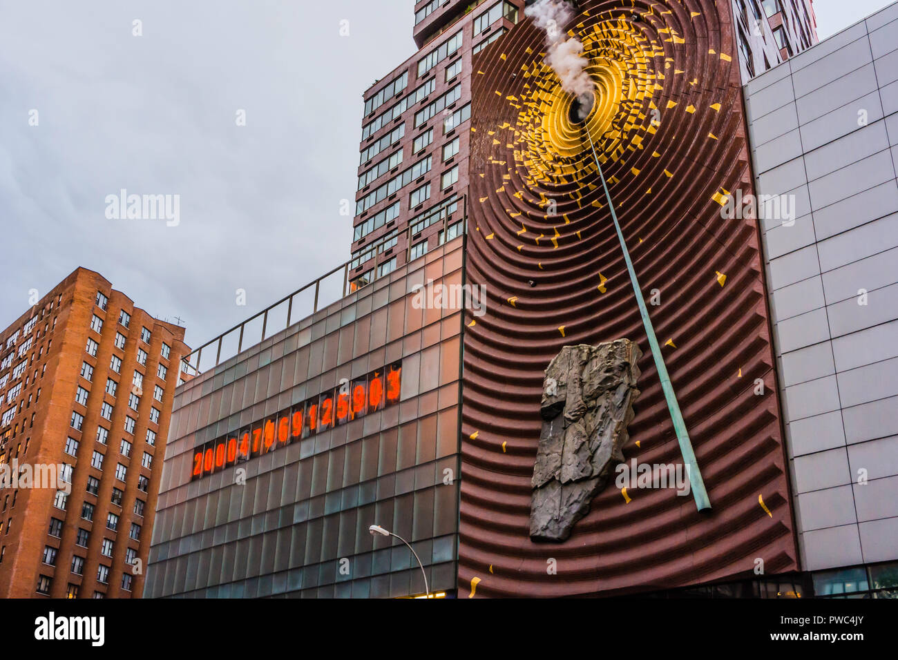 Metronome One Union Square Union Square Manhattan _ New York, New York, USA - Stock Image