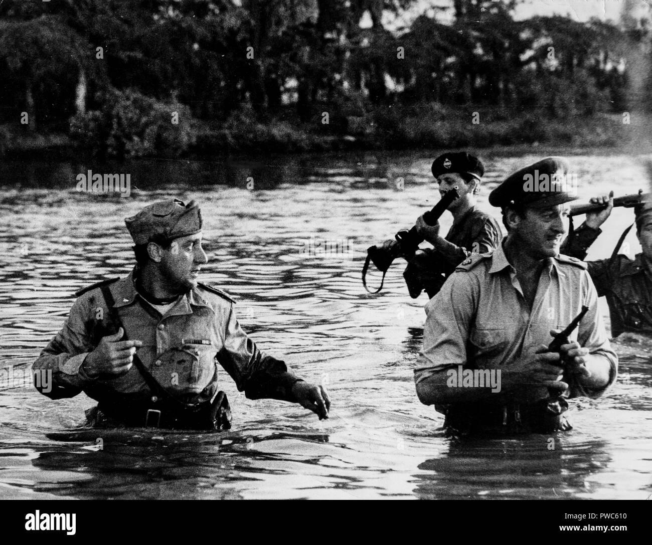 david niven, alberto sordi, the best of enemies, 1961 - Stock Image